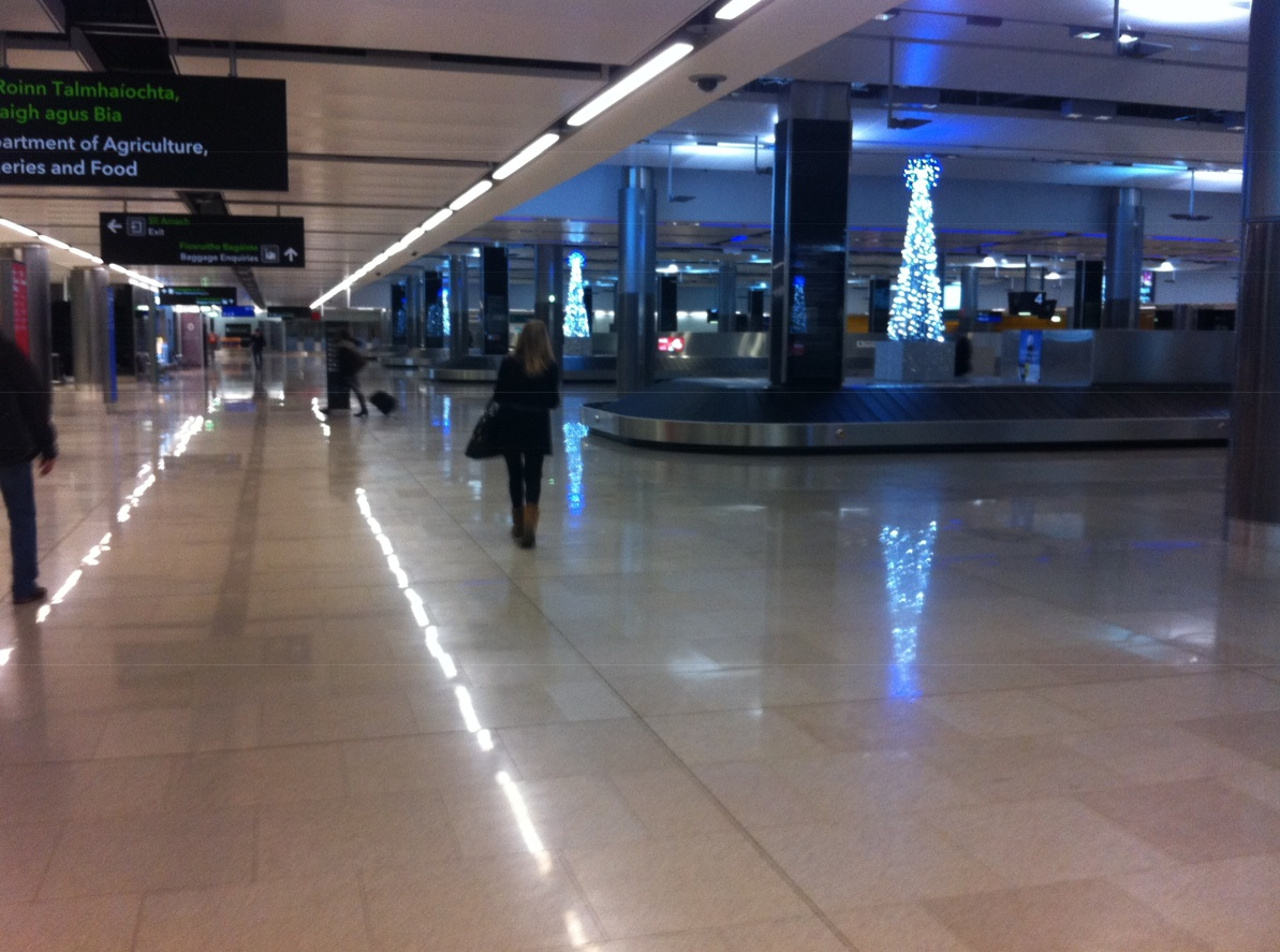 Dublin Airport at Night Dublin Airport Terminal 2