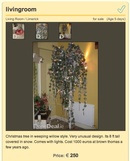 7c95574155 Christmas Tree (Done Deal)
