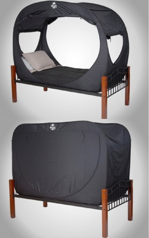 The Privacy Pop bed tent ... & Unprecedented Privacy | Broadsheet.ie