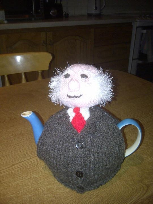 Michael Tea Cosy Knitting Pattern Update Broadsheet